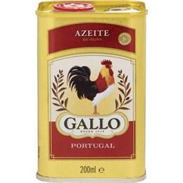 Azeite Gallo Olivia Lata (Emb. contém 1un. de 200ml)