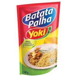 Batata Yoki Palha Tradicional (Emb. contém 20un. de 140g cada)
