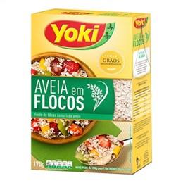 Aveia Yoki Flocos (Emb. contém 12un. de 170g cada)