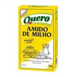 Amido de Milho Quero (Emb. contém 24un. de 200g cada)