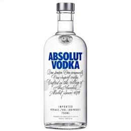 Vodka Importada Absolut Natural (Emb. contém 1un. de 750ml)