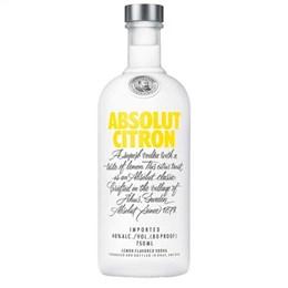 Vodka Absolut Citron (Emb. contém 1un. de 750ml)