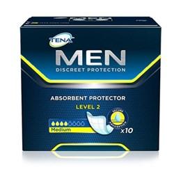 Absorvente geriátrico tena 10un discreet protection men