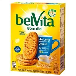 Biscoito Belvita Leite com Aveia (Emb. contém 3un. de 25g cada)