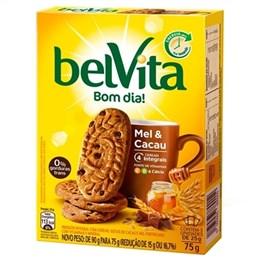 Biscoito Belvita Mel e Cacau (Emb. contém 3un. de 25g cada)