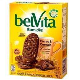 Biscoito Belvita Cacau e Cereais (Emb. contém 3un. de 25g cada)
