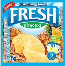 Refresco em Pó Abacaxi (Emb. contém 15un. de 15g cada) - Fresh