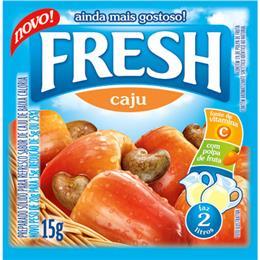 Refresco em Pó Caju (Emb. contém 15un. de 15g cada) - Fresh