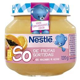 Alimento Infantil Nestlé Papinha de Frutas Sortidas (Emb. contém 6un. de 120g cada)