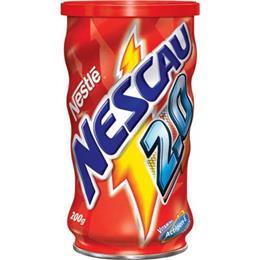 Achocolatado em Pó Nestlé Nescau 2.0 Actigen- E Lata (Emb. contém 48un. de 200g cada)