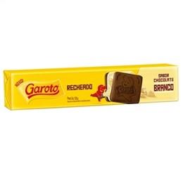 Biscoito Garoto Recheado Chocolate Branco (Emb. contém 70un. de 130g cada)