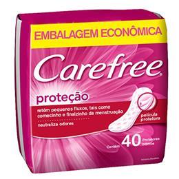 Absorvente Carefree Proteção com Perfume (Emb. contém 40un.)