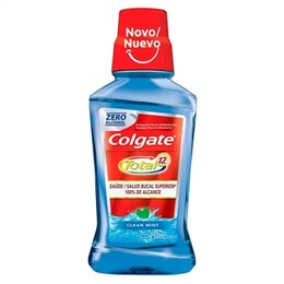 Enxaguante Bucal Colgate Total 12 Clean Mint (Emb. contém 1un. de 250ml)