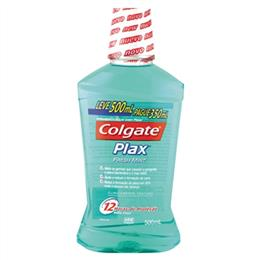 Enxaguante Bucal Plax Colgate Fresh Mint Leve 500ml Pague 350ml Pack Promocional (Emb. contém 1un. de 500ml)