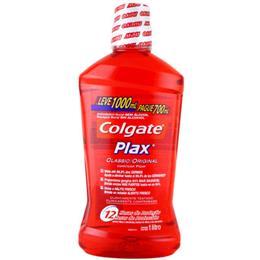 Enxaguatório Bucal Plax Colgate Classic Leve 500ml Pague 350ml (CP) Pack Promocional (Emb. contém 1un. de 500ml)