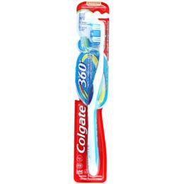 Escova de Dentes Colgate 360 Cabeça Compacta Macia (Emb. contém 1un.)