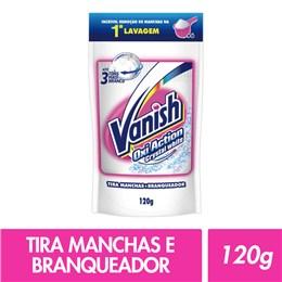 Alvejante sem cloro vanish 120g sache white