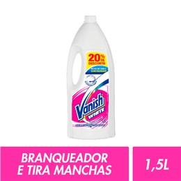 Alvejante sem cloro vanish 1,5l white c/20% desconto