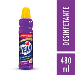 Desinfetante líquido veja 480ml lavanda