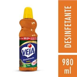 Desinfetante líquido veja 980ml pinho