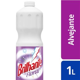 Alvejante sem cloro brilhante 1l utile floral rosa