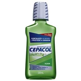 Enxaguatório antisséptico cepacol 250ml flúor
