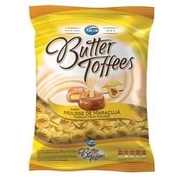 Bala Arcor Butter Toffees Maracujá (Emb. contém 1un. de 600g)