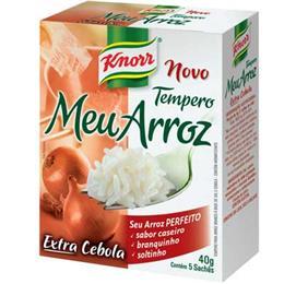 Tempero Meu Arroz Extra Alho (Emb. contém 5un. de 8g cada) - Knorr