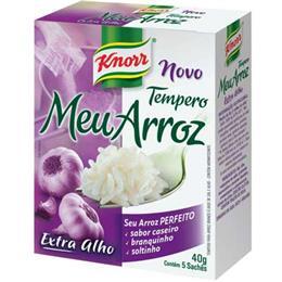 Tempero Meu Arroz Tradicional (Emb. contém 5un. de 8g cada) - Knorr
