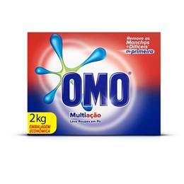 Detergente em pó omo 2kg multiação
