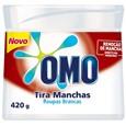 Alvejante sem Cloro em Pó Omo Tira Manchas Roupas Brancas (Emb. contém 1un. de 420g)
