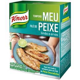 Tempero Meu Filé de Peixe Limão e Ervas (Emb. contém 1un. de 35g) - Knorr
