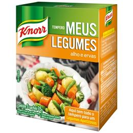 Tempero Meus Legumes Alho e Ervas (Emb. contém 1un. de 35g) - Knorr