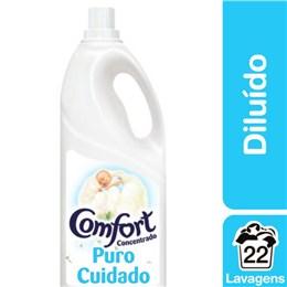Amaciante líquido comfort 2l puro cuidado