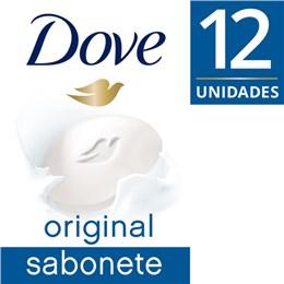 Sabonete em barra uso diário dove 90g leve 12 pague 10 1/4 hidratante