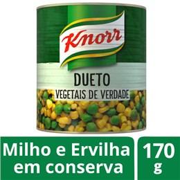 Ervilha e milho em lata knorr 170g conserva