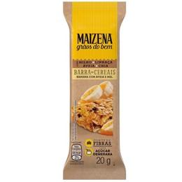 Barra de cereal tradicional maizena 20g banana
