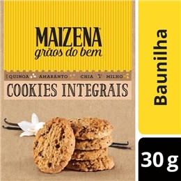 Biscoito cookie integral maizena 120g baunilha