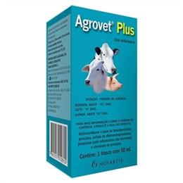 Agrovet Plus Antibiótico Novartis Injetável (Emb. contém 1un. de 50ml)