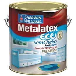 Tinta Esmalte Metalatex Eco Alto Brilho Amarelo ouro (Emb. contém 1un. de 3,6 Litros)