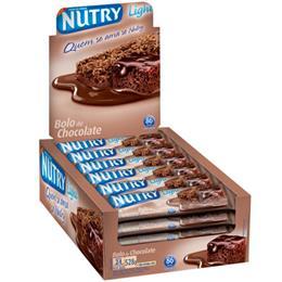 Barra de Cereais Nutry Bolo Chocolate (Emb. contém 24un. de 22g cada)