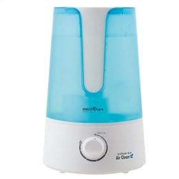 Umidificador Britania Air Clean 10 Horas Branco/Azul Bivolt (Emb. contém 1un. de 3,2 Litros)