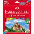 Lápis de Cor Faber Castell 48 Cores (Emb. contém 3 Pacotes com 48un. de cada)