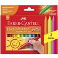 Gizão de Cera 15 Cores (Emb. contém 12un.) - Faber Castell
