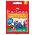 Massa de Modelar Faber Castell 6 Cores (Emb. contém 6 Pacotes com 6un. 90g de cada)