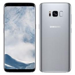 "Smartphone Samsung Galaxy S8 G950FD, Prata, Dual Chip, Tela 5.8"", 4G + Wi-Fi + NFC, Octa Core 2.3Ghz, Android 7.0, 3000MAH, Câmera 12MP e 8MP, 64GB, 4GB RAM (Emb. contém 1un.)"