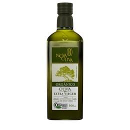 Azeite Nova Oliva 0,2% Extra Virgem Orgânico 500ml - Caixa com 12 unidades de 500ml