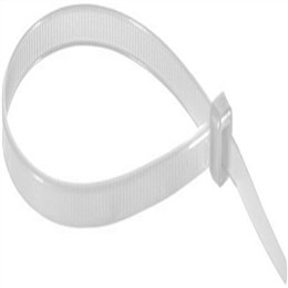 Abraçadeira Nylon Disma 280mm x 4,8mm Branco (Emb. contém 100un.)