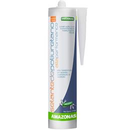 Adesivo  Selante Poliuretano Cinza (Emb. contém 1un. de 400g cada) - Amazonas