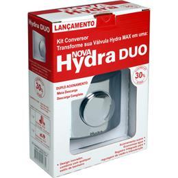 """Kit Adaptador Hydra Max 4916-C112-Duo para Hydra Duo 1.1/2"""" Cromado (Emb. contém 1un.)"""
